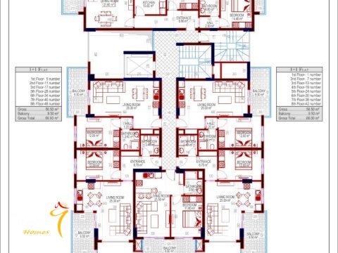 Фотография планировки этажей Investment Plus-2