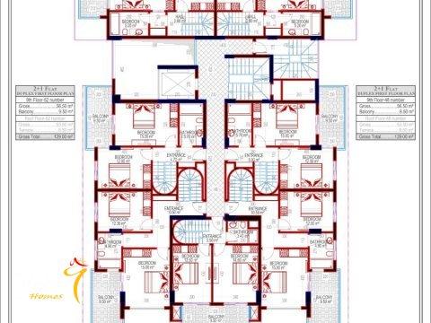 Фотография планировки 9 этажа Investment Plus