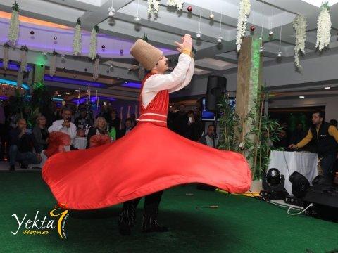 Османская ночь для клиентов Yekta Homes