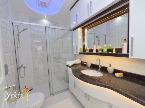 Фотография ванной комнаты в номере Yekta Plaza Residence