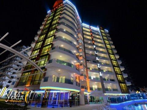 Фотография Yekta Plaza Residence с подсветкой