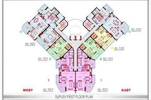 Фотография планировки этажей Yekta Plaza Residence-2
