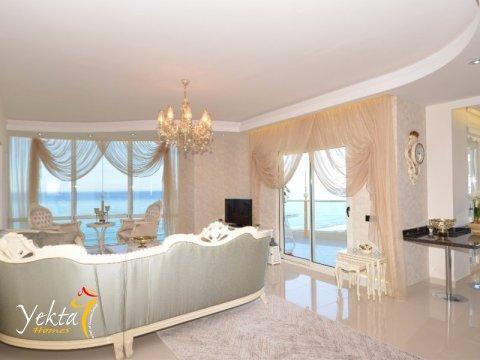 Фотография гостиной в номере Yekta Queen Residence