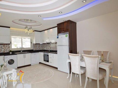 Фотография кухни в номере Yekta Queen Residence