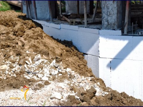 Фотография строительных работ