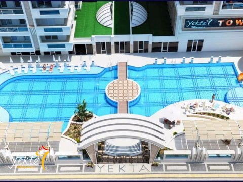Фотография открытого бассейна Yekta Towers Residence