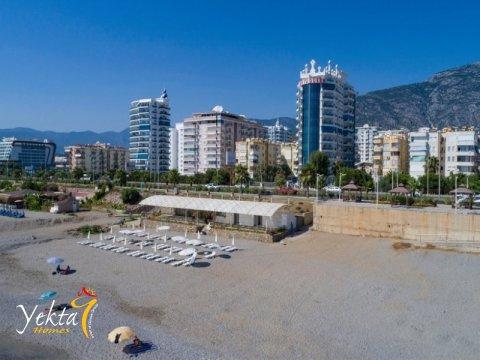 Новый частный пляж Yekta Homes