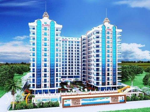 Фотография 3D макета комплекса Yekta Alara Park Residence