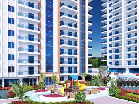 Фотография 3D макета детской игровой зоны Yekta Alara Park Residence