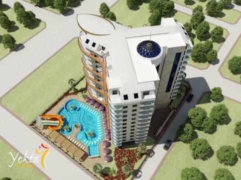 Фотография 3D макета объекта Yekta Plaza Residence