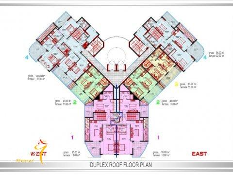 Фотография планировки этажей Yekta Plaza Residence-1