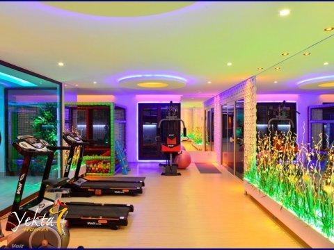 Фотография фитнес-зала в Yekta Queen Residence