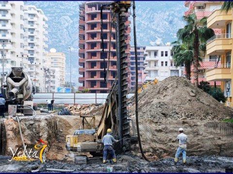 Фотография укладки бетона