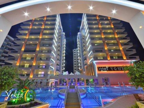 Фотография ночного Yekta Towers Residence