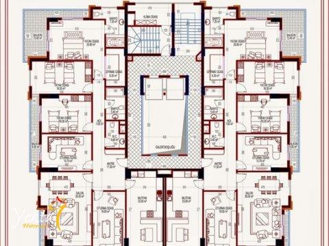 Фотография планировки этажа-1