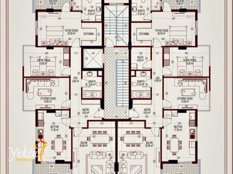 Фотография планировки этажа-3