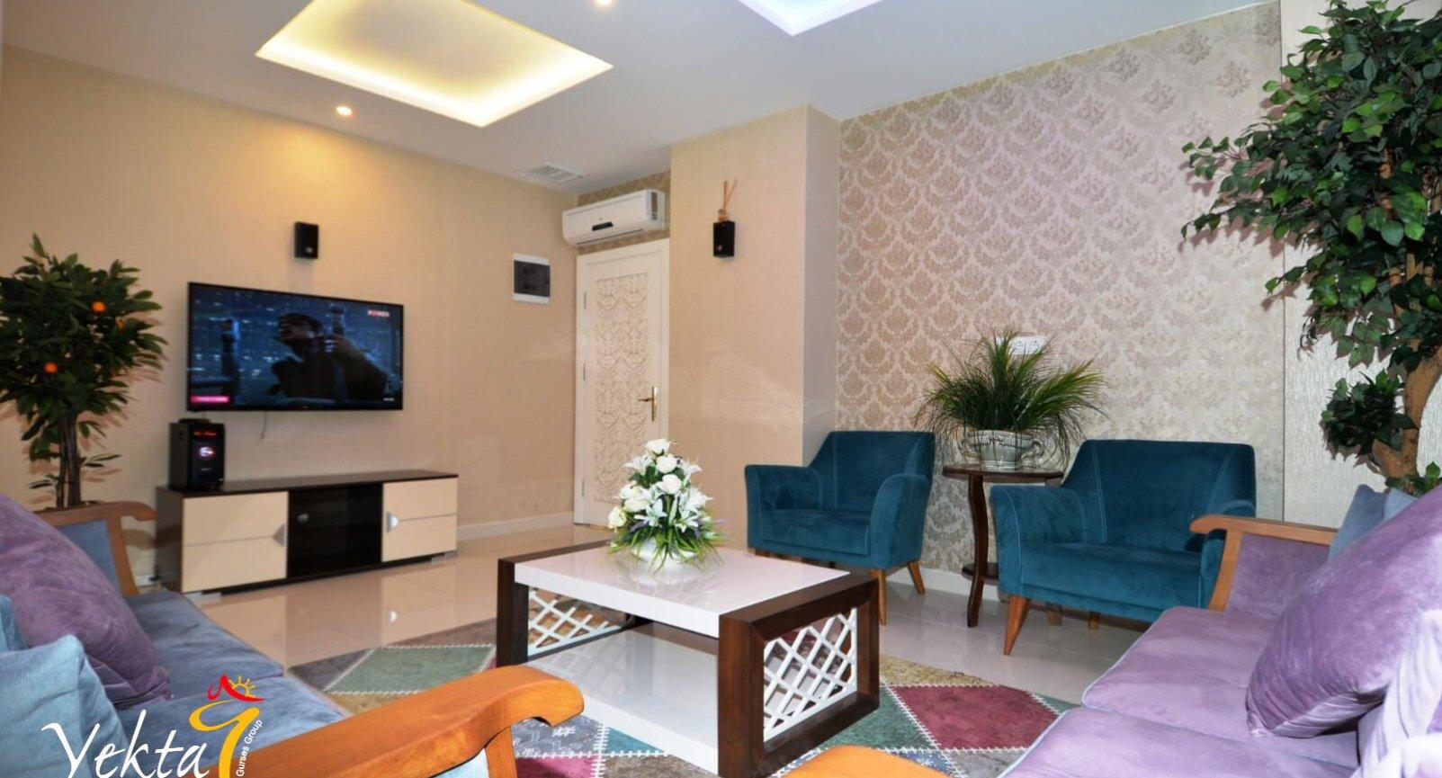 Роскошные апартаменты 2+1 в районе Махмутлар