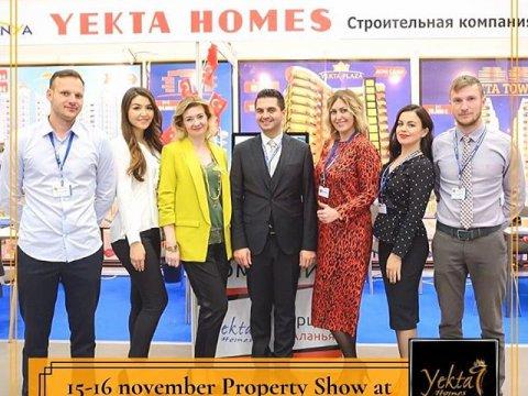 Yekta Homes приняла участие в международной выставке недвижимости Moscow International Property Show