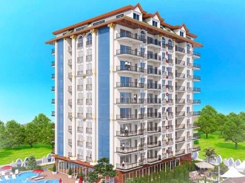 Yekta Homes представляет новый проект в самом сердце города Аланья – Yekta Royal Club Residence!